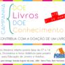 Moradia e Cidadania/MG lança Campanha de Doação de Livros 2014