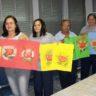 Curso de Pintura em EVA organizado pela Moradia e Cidadania/MT beneficia prestadoras de serviço