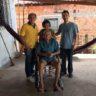 Moradia e Cidadania/PI realiza doação para possibilitar descolamento de idoso