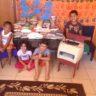 Coordenação DF doa impressora e 74 kg de alimentos a Creche Cantinho da Criança