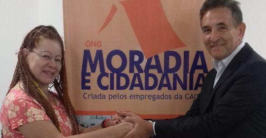 Toma posse em Brasília a nova Presidente Executiva da ONG Moradia e Cidadania