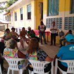 Programação especial realizada pela Moradia e Cidadania/AM, beneficia idosos do Grupo Sempre Amigos