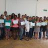 Moradia e Cidadania/GO entrega certificados aos participantes do Curso de Costureiro Industrial