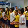 Coral parceiro da Coordenação Alagoas apresenta canções de Natal em agências da Caixa Econômica