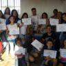 Coordenação SP entrega certificados aos alunos do Curso Informática Básica
