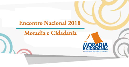 Encontro Nacional 2018 acontecerá neste mês de Setembro