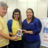 Coordenação PE: APCEF/PE doa smartphone para a criação do whatsapp institucional da ONG