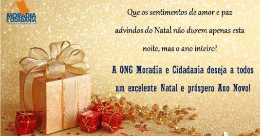 Feliz Natal e próspero Ano Novo!