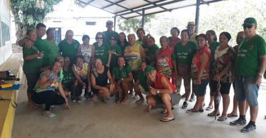 Moradia e Cidadania/AM participa da abertura do Grupo de Idosos Sempre Amigos de 2019!