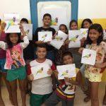 Moradia e Cidadania/AM é parceira no desenvolvimento de oficina de artes para crianças e adolescentes