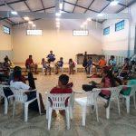 Parceria entre a CSELA e a ONG/AM proporcionam aulas de violão a adolescentes do Bairro Colônia Antônio Aleixo