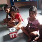 Crianças do Núcleo Ler para Crescer recebem atividade interativa!