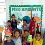 Crianças apoiadas pela Coordenação AM têm lição de sustentabilidade