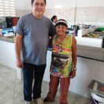 Projeto ECAE recebe a visita de Osmar Pantoja, Coordenador da ONG/AM